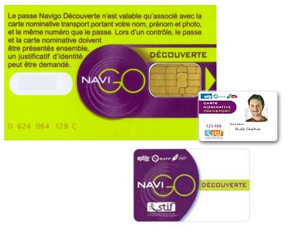 carte navigo decouverte