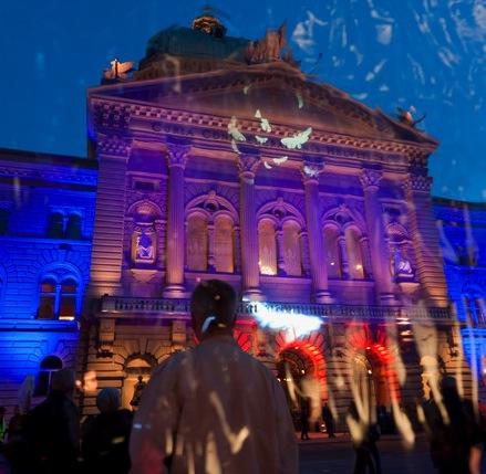 16 marzo 2012: MuseumsNacht, la Notte Bianca di Berna
