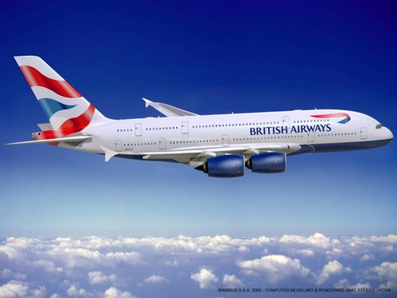 """British Airways: nuova tariffa """"solo bagaglio a mano"""""""